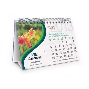 Seeded Desk Calendar