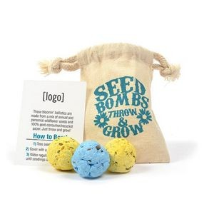Seed Bomb Bag (3 Bombs)